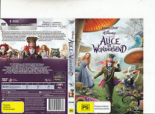 Alice In Wonderland-2010-Johnny Depp-Movie-DVD