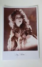 "UNIVERSAL HORROR MOVIES - Mary Philbin Phantom Reproduced Autograph 6""X4"" Glossy"
