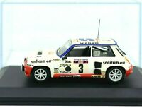 Model Car Renault 5 Turbo modellcar Scale 1/43 diecast IXO Rally Rallye