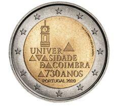 2 Euro Portugal 2020 700 Jahre Universität Coimbra
