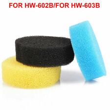SUNSUN HW-602B HW-603B ORIGINAL REPLACEMENT SPONGE FOR CANISTER FILTER 3 SPONGES