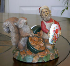 """*Tom Clark/Tim Wolfe Christmas Gnome """"Fran's Pecans"""" Signed by Both Artists 1996"""