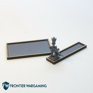 Magnetic Wargaming Movement Tray for 20mm, 25mm bases ANY SIZE