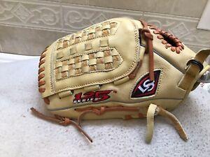 "Louisville Slugger 125 Series 12.5"" Women's Fastpitch Softball Glove Left Thro !"