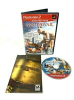 God of War Sony PlayStation 2 PS2 Greatest Hits Edition + Manual Complete
