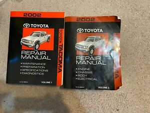 Service Repair Manuals For Toyota Tacoma For Sale Ebay