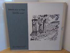 Ballade pour un pays tome 1 scène du pays de Bitche aquarelles Schmitt 2000 ex.