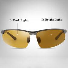 Men's Day Night Photochromic Polarized Sunglasses for Drivers UV400