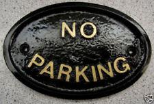 Handmade No Parking Decorative Outdoor Signs/Plaques
