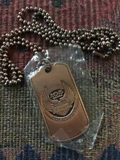Rare! HARLEY DAVIDSON 105th Anniversary Milwaukee WI Copper Pendant DOG TAG, NEW