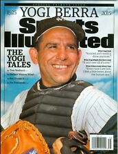 2015 Sports Illustrated Yogi Berra 1925-2015 Special Tribue Issue no mail label
