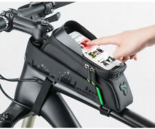 Bicycle Front Tube Phone Bag Touch Screen Frame Saddle Cycling Frame Waterproof