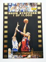 1995 Signature Rookies C1 card Show Stoppers Arkansas #C2 CORLISS WILLIAMSON