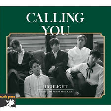 HIGHLIGHT 1ST MINI ALBUM REPACKAGE [ CALLING YOU ] CD+PHOTO CARD BEAST