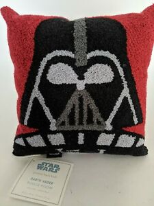 "NWT Pottery Barn Kids Star Wars Darth Vader Boucle 10"" decorative pillow"