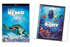 2 DVD SET-Finding Dory & Finding Nemo (DVD, 2016) Animation COMBO NOW SHIPPING !