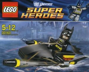 LEGO Super Heroes / DC UNiverse #30160 - BATMAN Jetski - NEUF / NEW - Sealed