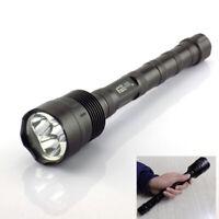 T6 x3 LED Tactical Flashlight high Powerful 6000lm 18650 flashTorch Lamp light