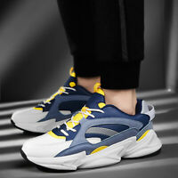 Men's Fashion Running Sports Casual Walking Breathable Athletic Sneakers Shoes