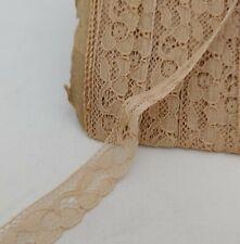 "New listing Antique Vintage Alencon Lace Trim 14 yards 1/2"" wide Rambling Floral Doll Dress"