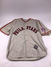 Black Diamond Ebbets Field Phila Stars Baseball Jersey XXL Negro League
