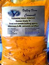 3Kg TURMERIC POWDER SUPER FRESH CERTIFIED 5.8% CURCUMIN 100% PURE BUY DIRECT