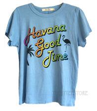 Junk Food Havana Good Time Destination T-shirt Destroyed Tri-Blend Classic Fits
