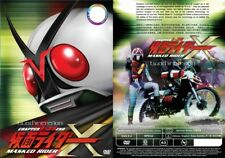 Live Action Dvd~Kamen Rider X(1-35End)English subtitle&All region Free Shipping