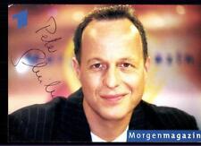 Peter Schreiber ARD Autogrammkarte Original Signiert ## BC 56916