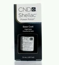 X1 CND Shellac NAIL POLISH UV Base Coat Coat Manicure 7.3ml AUS SELL