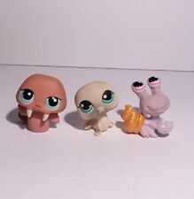 Littlest Pet Shop Lps Hermit Crab Seal Walrus