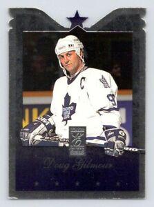 1995-96 Donruss Elite Die Cuts #92 Doug Gilmour /500 Maple Leafs (Parallel)