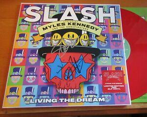 Slash Myles Kennedy Guns N Roses Signed Vinyl LP Album In Person + Hologram COA