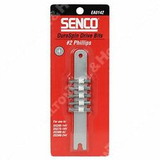 Senco EA0142 DuraSpin #2 Phillips Drive Bits Pack of 5 for DS205 DS275 DS300-AC