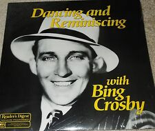 """Collectors Readers Digest """"Dancing And Reminiscing With Bing Crosby""""  New-Sealed"""