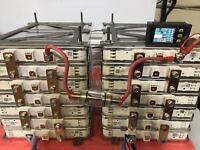Nissan Leaf 48v Battery G2 Lithium Ion 14 kWh 264 ah Solar Storage Boat Lot 28