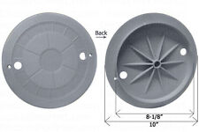 Cmp Water Leveler Lid Cover Gray 10 in. 25504-001-010