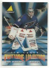 1995-96 Pinnacle McDonald's Future Game Winners - #40 - Jim Carey - Capitals