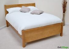 Oak King size Bed / Solid Wood 5ft KingSize Bedstead / Bedroom / New Dorset