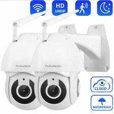 2x IP Cámara 1080P Dome Vigilancia Seguridad Wifi Exterior Visión nocturna IP66