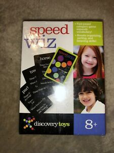 New! Discovery Toys Speed Wiz 8+ Years Vocabulary Game Sealed