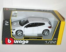 Burago - Volkswagen VW SCIROCCO R (White) - Die Cast Model - Scale 1:24