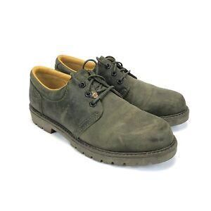 Havana Joe Men's Panama Jack Green Leather Oxford Shoes SZ 11 US / 44 EU 0202