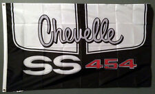CHEVELLE SS SUPER SPORT 454 BIG BLOCK CHEVY FLAG BANNER 3X5 chevrolet muscle car