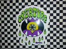 Creature Skateboard Sticker Aufkleber Creature
