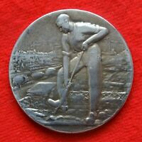 médaille société horticole et jardins ouvriers de france en argent