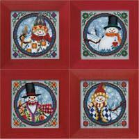 MILL HILL - JIM SHORE - SNOWMAN KITS - CHOOSE ONE OR ALL! NORTH SOUTH EAST WEST
