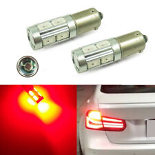 2pcs Bright Red 8+1Cree LED Brake Light Bulbs For 14-17 BMW F32 F33 F82 4 Series