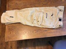 Snowboarding BONFIRE Horizon original double pants size mens S Small Excellent
