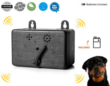 Ultrasonic Dog Bark Control Sonic Deterrent Anti Barking Device Silencer Battery